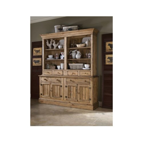 Surprising Open Hutch W Buffet Home Interior And Landscaping Ologienasavecom
