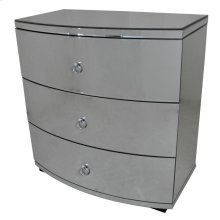 Millenium Bent Mirror 3 Drawer Chest