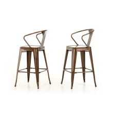 Modrest Ned Modern Copper Bar Stool