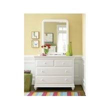 Single Dresser - Summer White