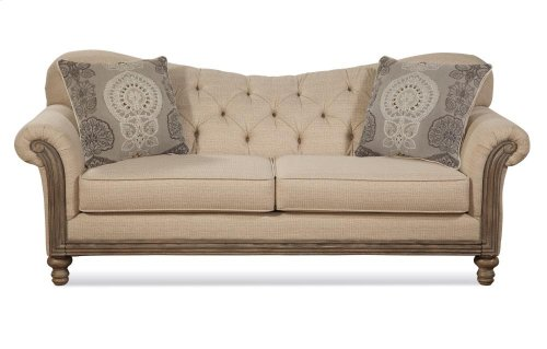 HUGHES 8725S New Siam Parchment Sofa