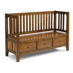 FLEXSTEELSonora Storage Bench
