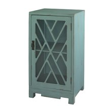 Blue Chippendale Table