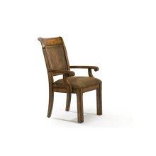 Larkspur Upholstered Back Arm Chair