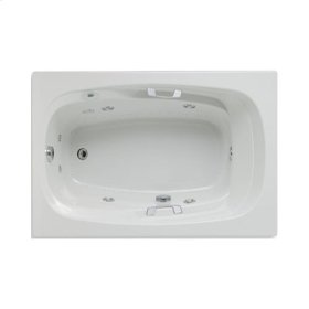 "Easy-Clean High Gloss Acrylic Surface, Rectangular, MicroSilk® - Whirlpool Bathtub, Premiere Package, 42"" X 60"""