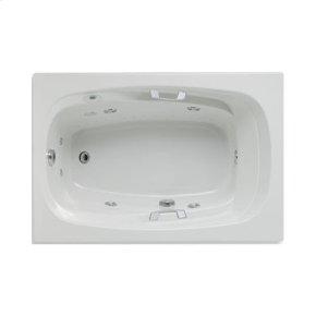 "Easy-Clean High Gloss Acrylic Surface, Rectangular, AirMasseur® - Whirlpool Bathtub, Standard Package, 42"" X 60"""