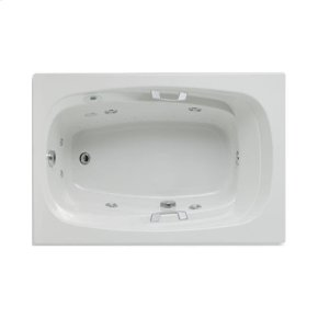 "Easy-Clean High Gloss Acrylic Surface, Rectangular, MicroSilk® - Whirlpool Bathtub, Standard Package, 42"" X 60"""