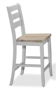 Ridgewood Birch and Grey Counter Stool