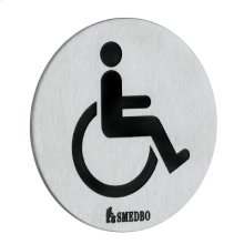 Toilet Sign - Invalid