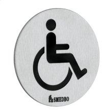 Toilet Sign - Invalid