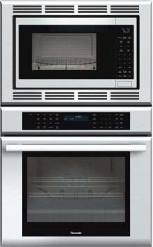 Masterpiece Series 30 inch Combination Wall Oven MEMC301ES - Stainless Steel