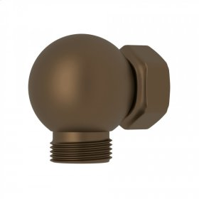 English Bronze Perrin & Rowe Swivel Outlet And Connector For Exposed Shower Valves