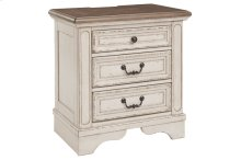 Realyn -Three Drawer Night Stand