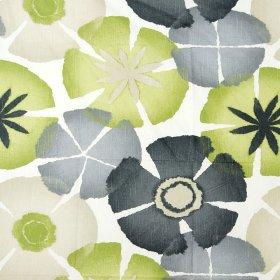 Pure Petals Olive Fabric