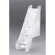 Spice Bunk Stairs: White