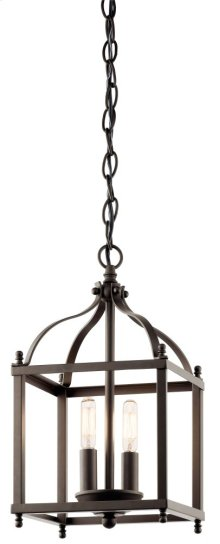Larkin 2 Light Mini Pendant Olde Bronze®