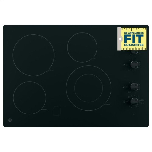 "GE® 30"" Built-In Knob Control Electric Cooktop"