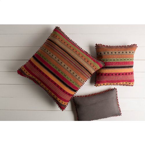 "Marrakech MR-003 20"" x 20"" Pillow Shell with Polyester Insert"