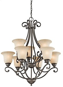 Camerena 9 Light Chandelier Olde Bronze®