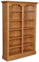 """Classic Tall Category II Bookcase, Classic Tall Category II Bookcase, 4-Adjustable Shelves, 52""""w Product Image"""