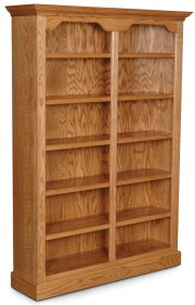 "Classic Tall Category II Bookcase, Classic Tall Category II Bookcase, 4-Adjustable Shelves, 52""w Product Image"