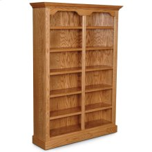 """Classic Tall Category II Bookcase, Classic Tall Category II Bookcase, 5-Adjustable Shelves, 52""""w"""
