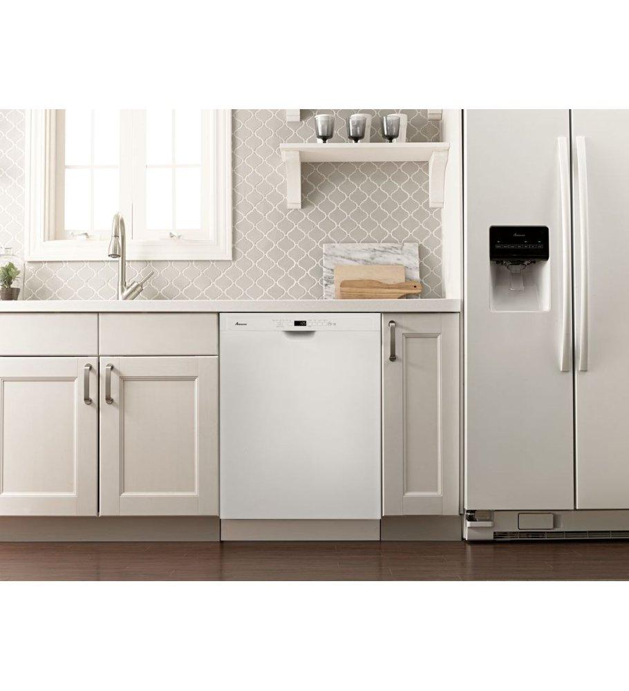 Adb1700adwamana Amana R Tall Tub Dishwasher With Stainless Steel Interior White White Kelly