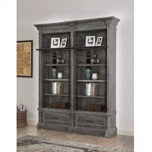 Gramercy Park 2 piece Museum Bookcase Set (9030 and 9031)