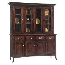 4-Door Shaker Hutch & Buffet