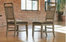Metalworks Splat Back Side Chair