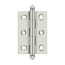 "2-1/2"" x 1-3/4"" Adjustable W/ Ball Tips - Polished Nickel"