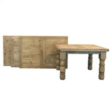 """84"""" x 39"""" x 42"""" Wood Top Dining Tables"""