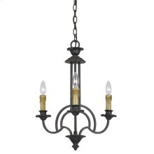 60Wx3 Elberton 3 Light Chandelier