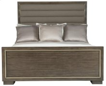 Queen-Sized Profile Panel Bed in Profile Warm Taupe (378)