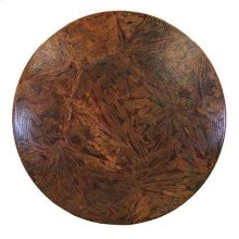 """60"""" Round Otono Copper Top"""