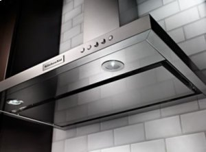 36'' Wall-Mount, 3-Speed Canopy Hood - Stainless Steel