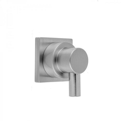 Satin Copper - Contempo Small Peg Lever Trim With Square Escutcheon For Exacto Volume Controls And Diverters (J-VC34 / J-VC12 / J-20682 / J-20686 / J-20687 / J-20688 / J-20689)