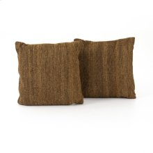 "20x20"" Size Flaxen Kilim Pillow, Set of 2"