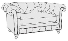 London Club Chair 1/2 in Molasses (780)