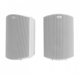 """All Weather Outdoor Loudspeakers with 5"""" Drivers and 3/4"""" Tweeters in White"""