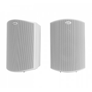 """Polk AudioAll Weather Outdoor Loudspeakers with 5"""" Drivers and 3/4"""" Tweeters in White"""
