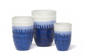 Lake Storm Planter - Set of 3