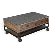 Bristol Coffee Table w/ Casters