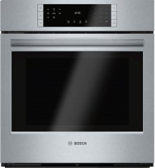 "800 Series, 27"", Single Wall Oven, SS, EU Convection, Touch Control"