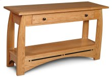 "Aspen 1-Drawer Sofa Table with Inlay, Aspen 1-Drawer Sofa Table with Inlay, 48""w"