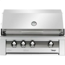 36-In. Built-In Natural Gas Grill in Stainless with Sear Zone