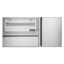 """42"""" Convenience Center with Warming Drawer"""