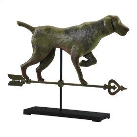 Dog On Stand