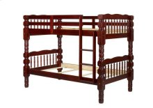 Dakota Twin/Twin Bunk Bed, Mahogany