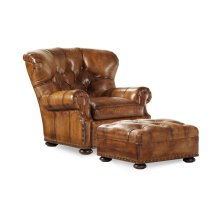 Author Chair and Ottoman